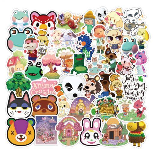 Animal Crossing Sticker bulk pack from wholesale sticker supplier