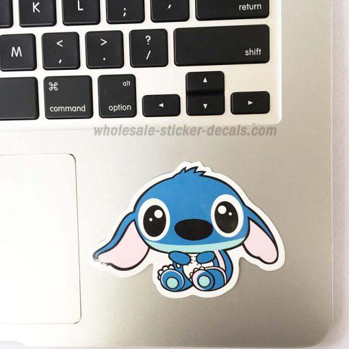 Cute Stitch Sticker bulk pack skateboard laptop luggage car bumper decals