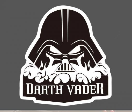 Darth Vader Stickers for car botter box phone decals bulk pack laptop mac phone box sticker