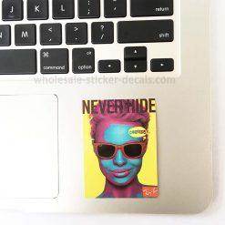 Never Hide Ray Ban Sticker bulk pack skateboard laptop luggage car bumper decals