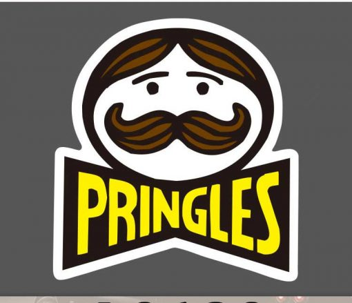Old Pringles Sticker for car botter box phone decals bulk pack laptop mac phone box stickers