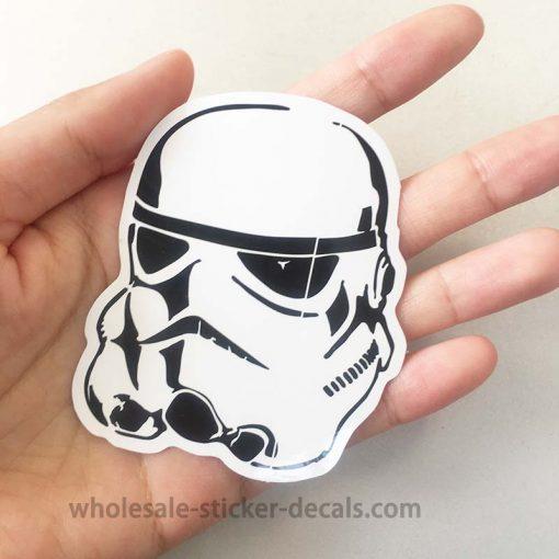 Star Wars Stormtrooper Sticker bulk pack from wholesale sticker supplier