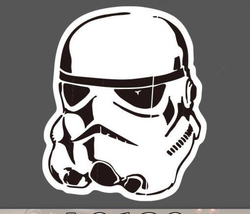 Star Wars Stormtrooper Sticker for car botter box phone decals bulk pack laptop mac phone box stickers