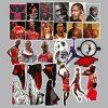 52 Michael Jordan Stickers : Sticker Set Pack Lot Pcs : Air Jordan Chicago Bulls